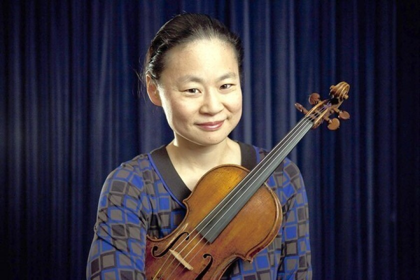 Review: Midori reaches soulful new heights with Bach at Hahn Hall