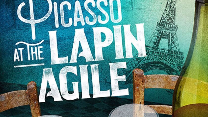 Barry Edelstein directs the comedy 'Picasso at the Lapin Agile,' showing at the Old Globe Feb. 4 to March 12.