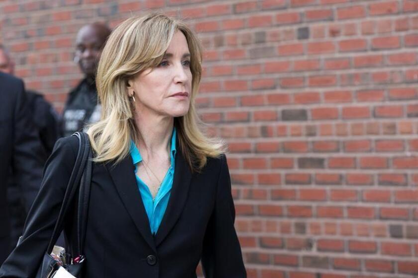 Felicity Huffman se declara culpable y se enfrenta cuatro meses de prisión