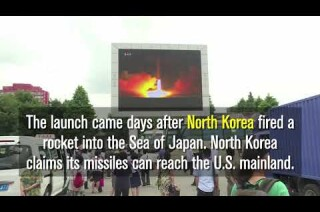 U.S. launched another test missile from Vandenberg Air Force Base