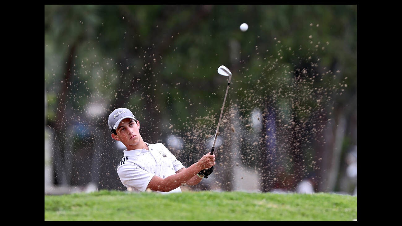 Photo Gallery: Laguna Beach High golfer Sharp in CIF SCGA championship at Brookside Golf Club