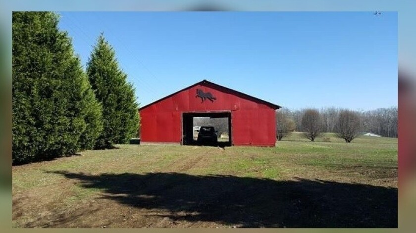 """Just sold,"" says the real estate website Realtor.com, regarding the home and barn on 2.5 acres in Summertown, Tennessee."