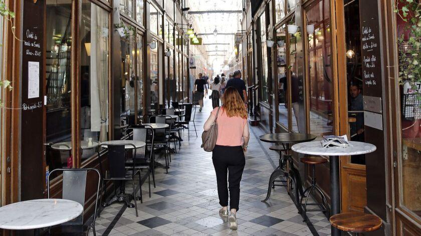 Paris Passages : Illustration