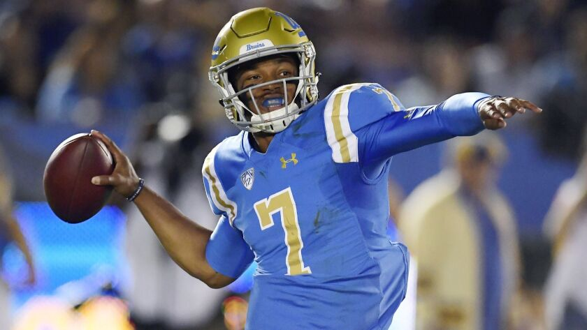 UCLA's Dorian Thompson-Robinson is ready to take Bruins fans on a ...