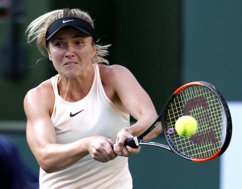 En la imagen, la tenista Elina Svitolina de Ucrania. EFE/Archivo