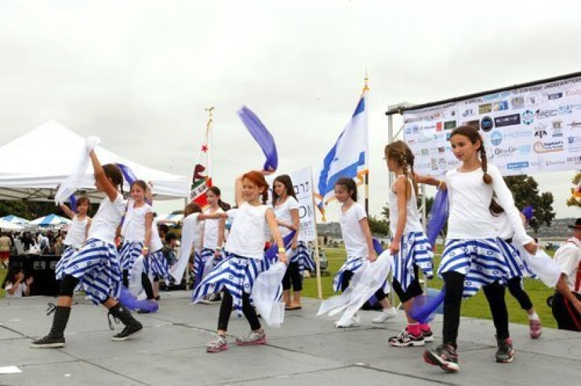 The Tarbuton, Israeli Cultural Center dancers.