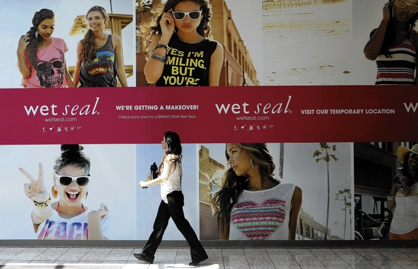 Struggling retailer Wet Seal to shut 338 stores