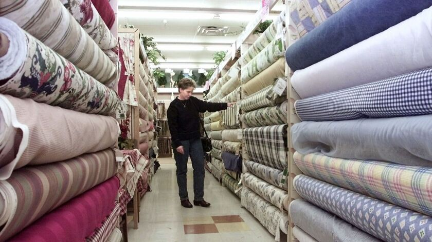 The national chain JOANN Fabric and Craft has created an online petition asking customers to support the privately held company's efforts to obtain exemptions for tariffs on products imported from China.