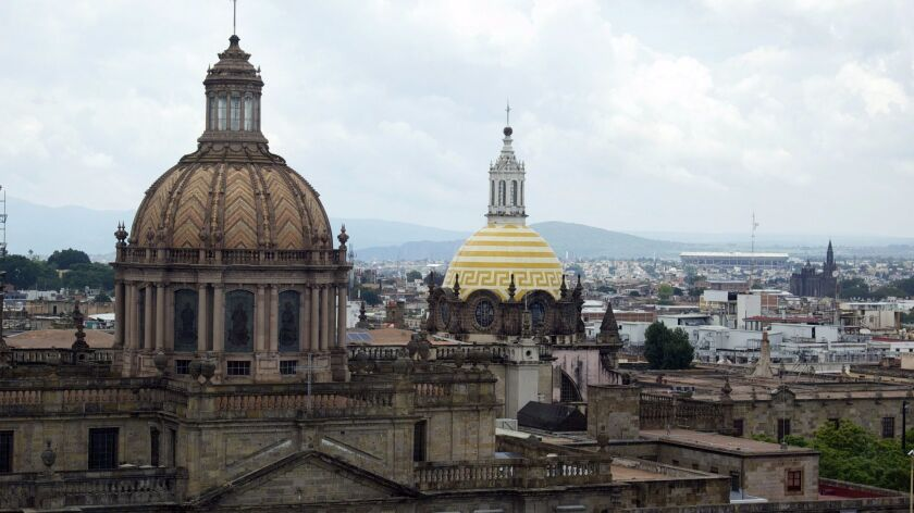 Don'€™t miss the city'€™s most iconic landmark, the Guadalajara Cathedral with neo-Gothic towers and domes from 1558.