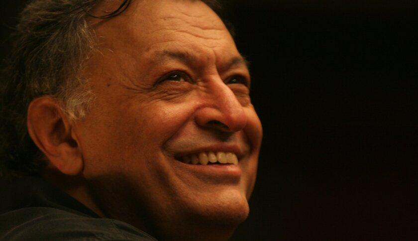 Conductor Zubin Mehta