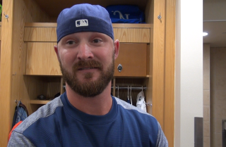 "Padres pitcher Travis Wood: ""It's definitely a fresh start for me"""