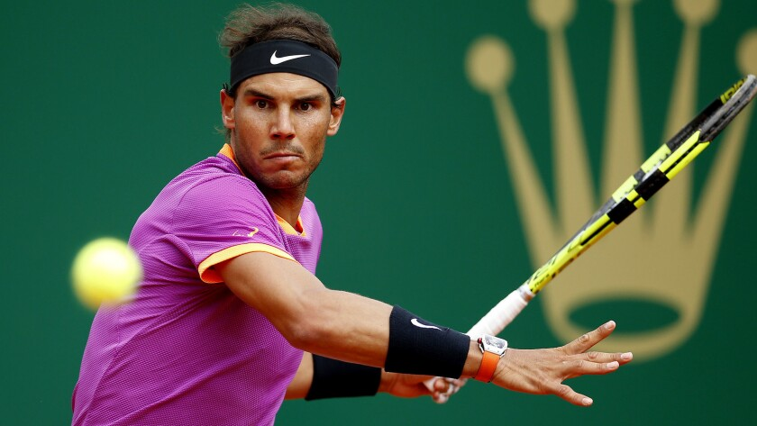 Rafael Nadal became the first man in the Open era of tennis to win the same tournament 10 times with his victory at the Monte Carlo Masters on Sunday in Monaco.