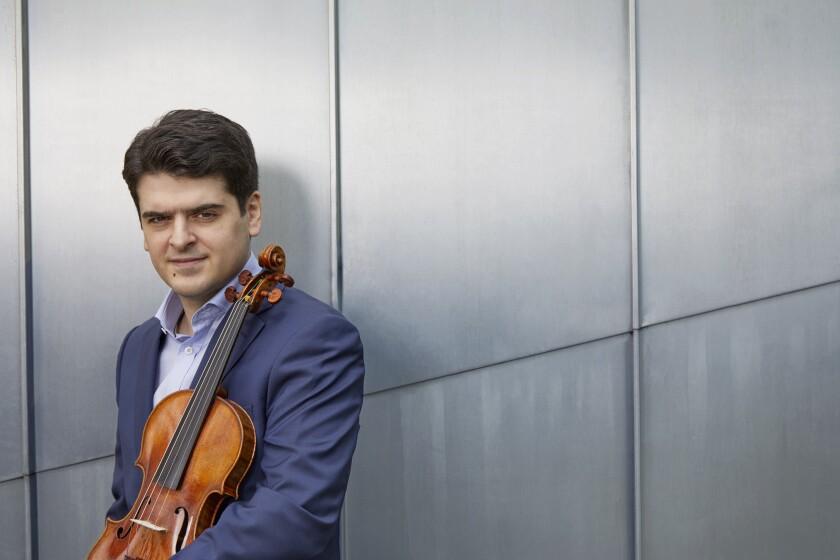 Violinist Michael Barenboim