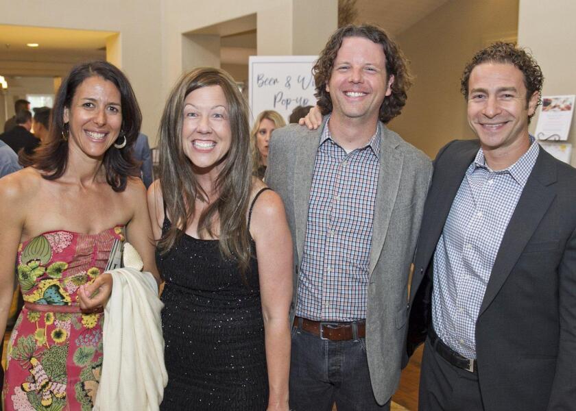 Lindsay Kaplan, Paige Rollins, Sean Rollins, Eric Nudleman
