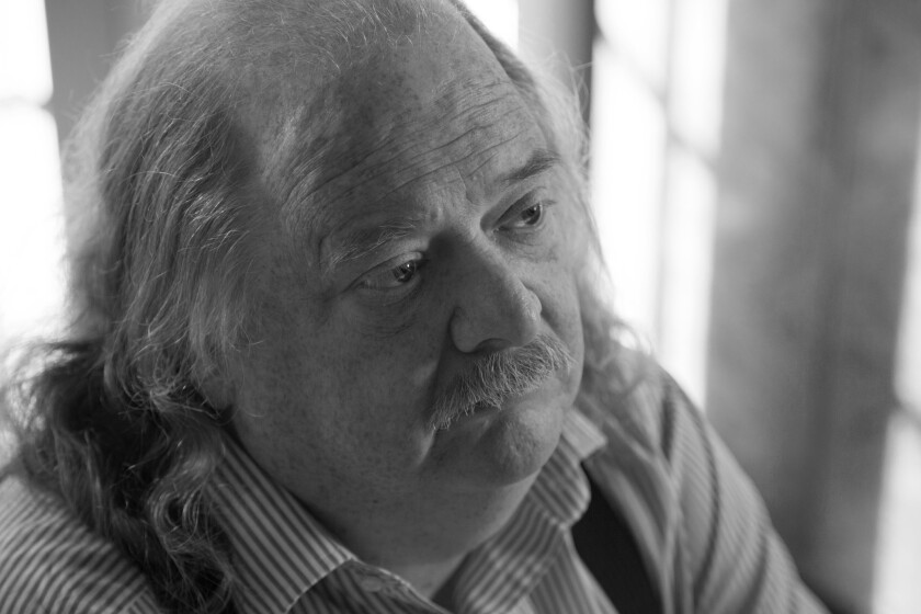 """Jonathan Gold in a scene from the film """"City of Gold."""""""