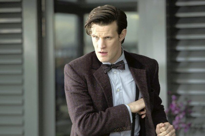 """Matt Smith is """"Doctor Who"""" in the new season of the BBC show."""