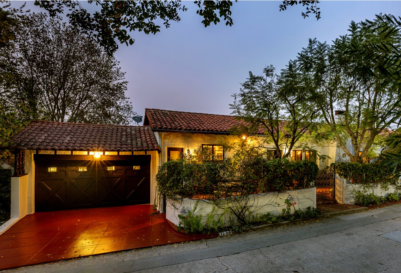 The Spanish Colonial-style home in Pasadena's Poppy Peak Historic District dates to 1929. (Shawn Bishop Photography)