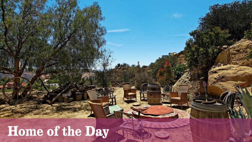 Home of the Day: Bell Canyon ranch built for record producer Snuff Garrett