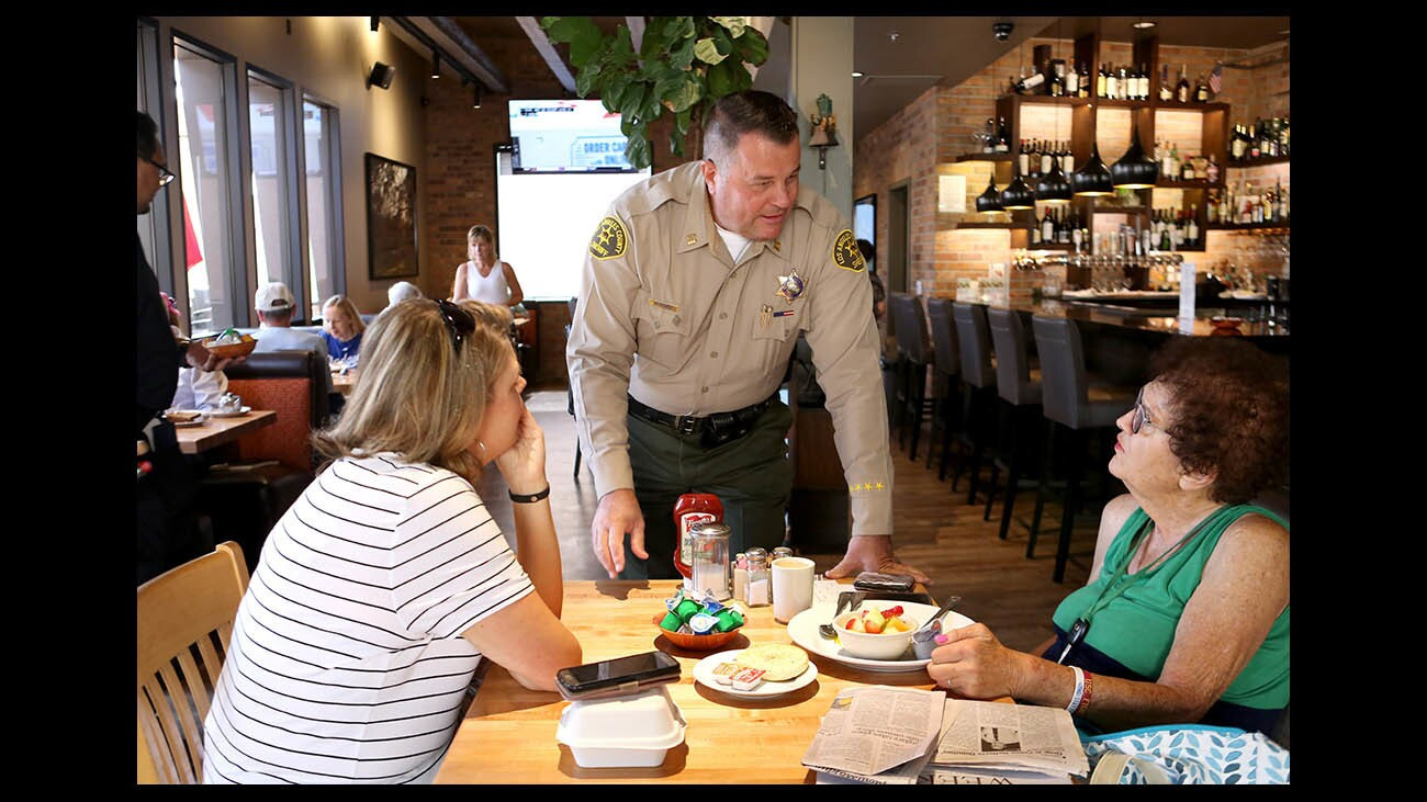 Photo Gallery: Tip A Cop at Hill Street Cafe