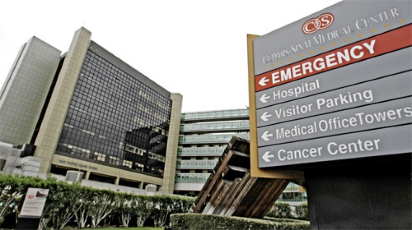 State cites safety drug lapses at Cedars-Sinai - Los Angeles