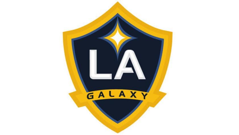 L.A. Galaxy logo.