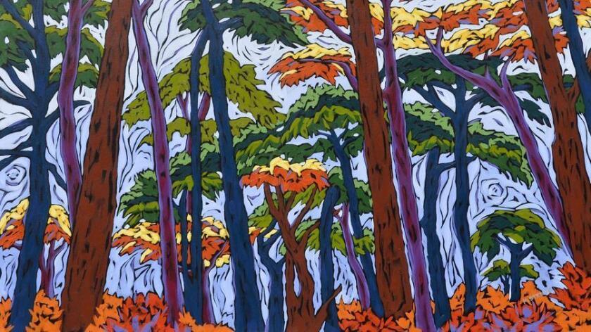 """Forest Walk"" by Monique Straub. (Courtesy photo)"