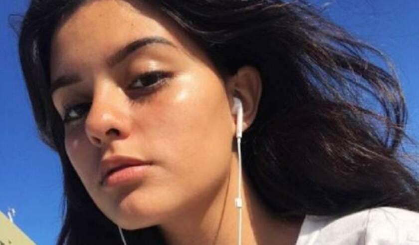 Esta es la hija adolescente del cantante colombiano Charlie Zaa, que estudia en la escuela donde se produjo la balacera.