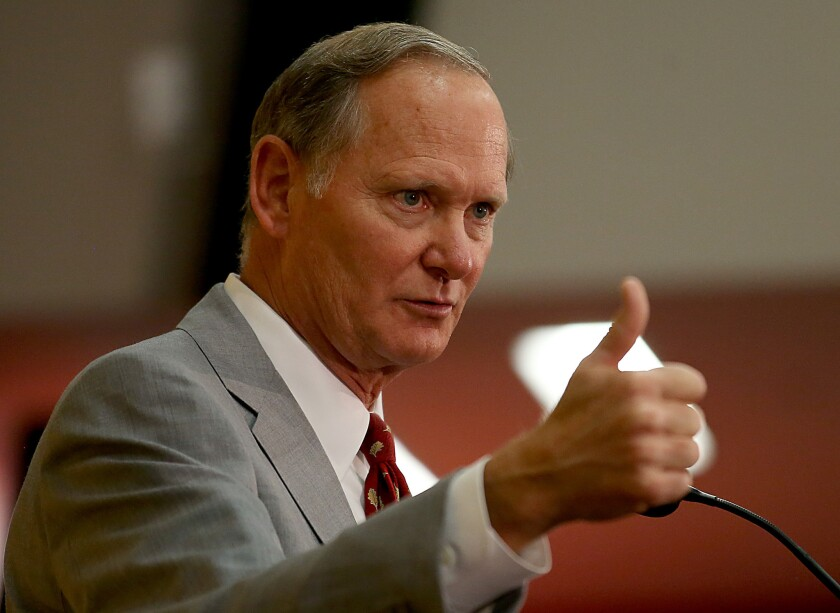 USC Athletic Director Pat Haden is one of nine college football committee members affected by a recusal policy.