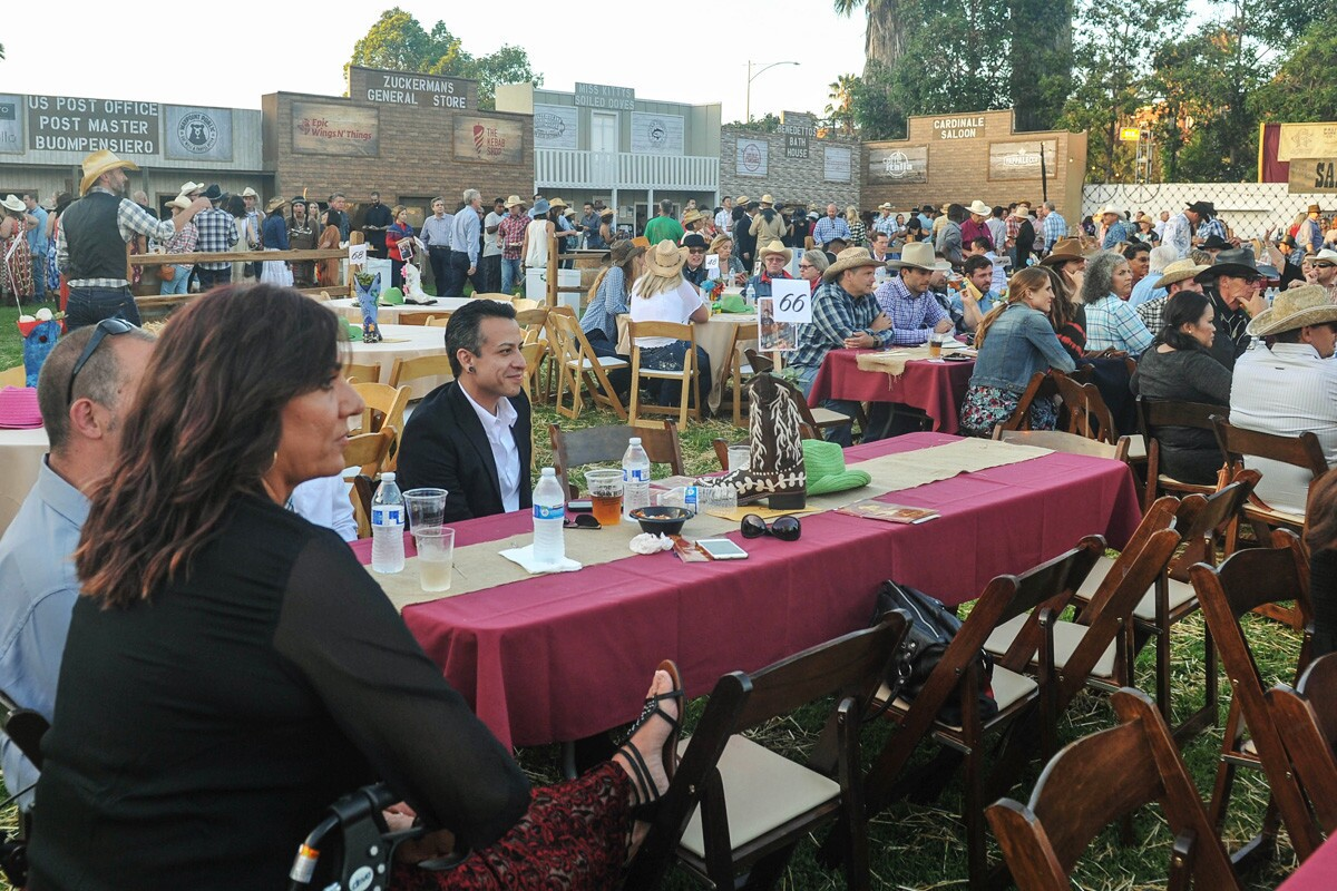 The Wild West took over Little Italy on Saturday, Aug. 19, 2017 during the annual Ferragosto (mid-August in Italian) shindig. (Rick Nocon)