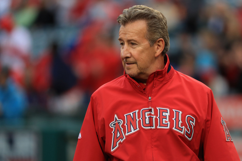 Angels owner Arte Moreno attends a game.