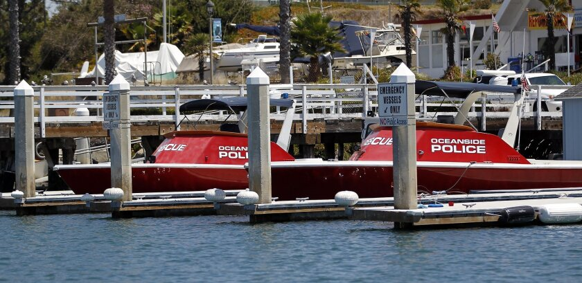 Oceanside harbor police are seeing an increase in smuggling-related incidents.