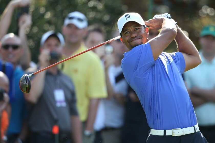 Can anyone beat Tiger Woods at the Masters?