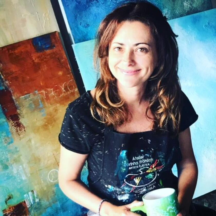 Artist Leticia Demeuse said she enjoys working on projects for Nativa Interiors clients.
