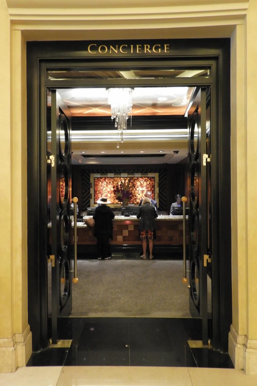 Caesars Palace concierge services