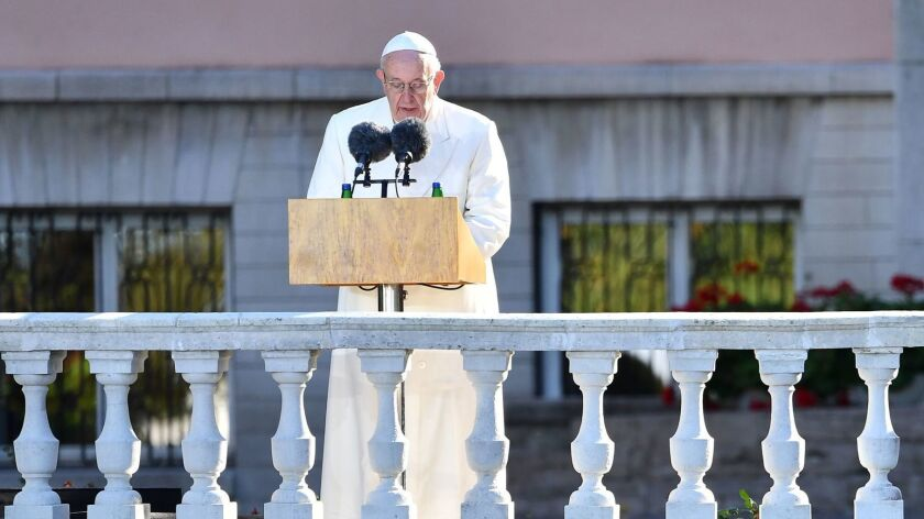 ESTONIA-RELIGION-POPE