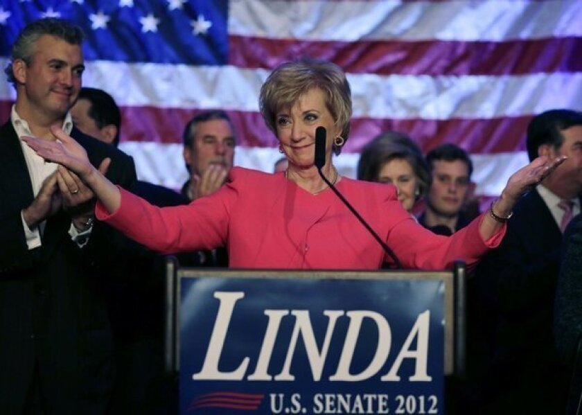 WWE's Linda McMahon spends $97 million on Senate races, gets zilch