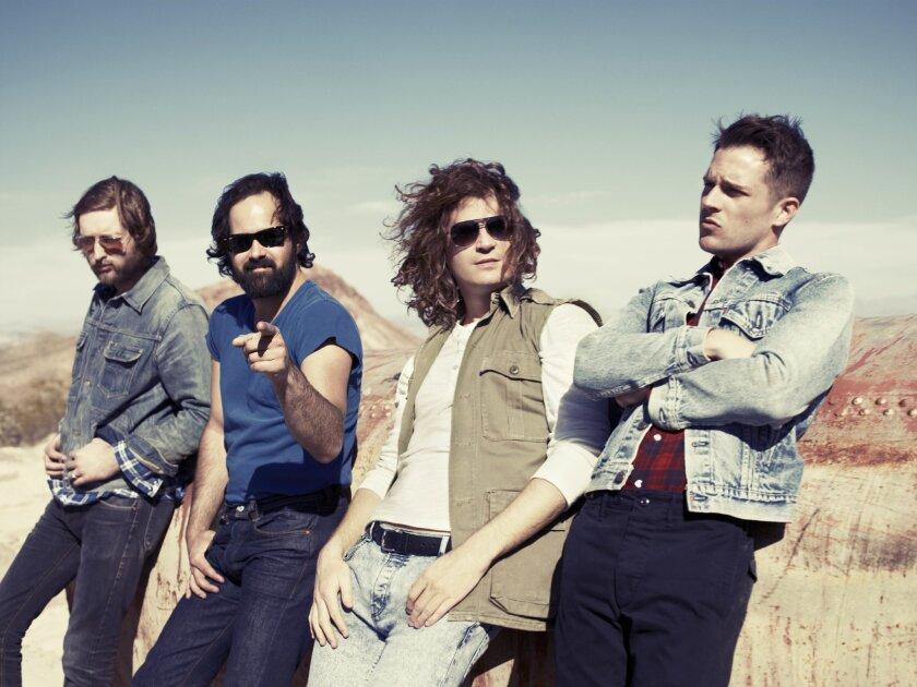 """MUSIC_ Band """"The Killers""""  Photographer/Williams + Hirakawa"""