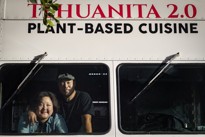 Janelle Hu Chang and chef Richard Chang of Tehuanita 2.0