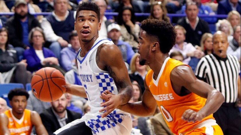 College basketball: Kentucky gets payback against Tennessee