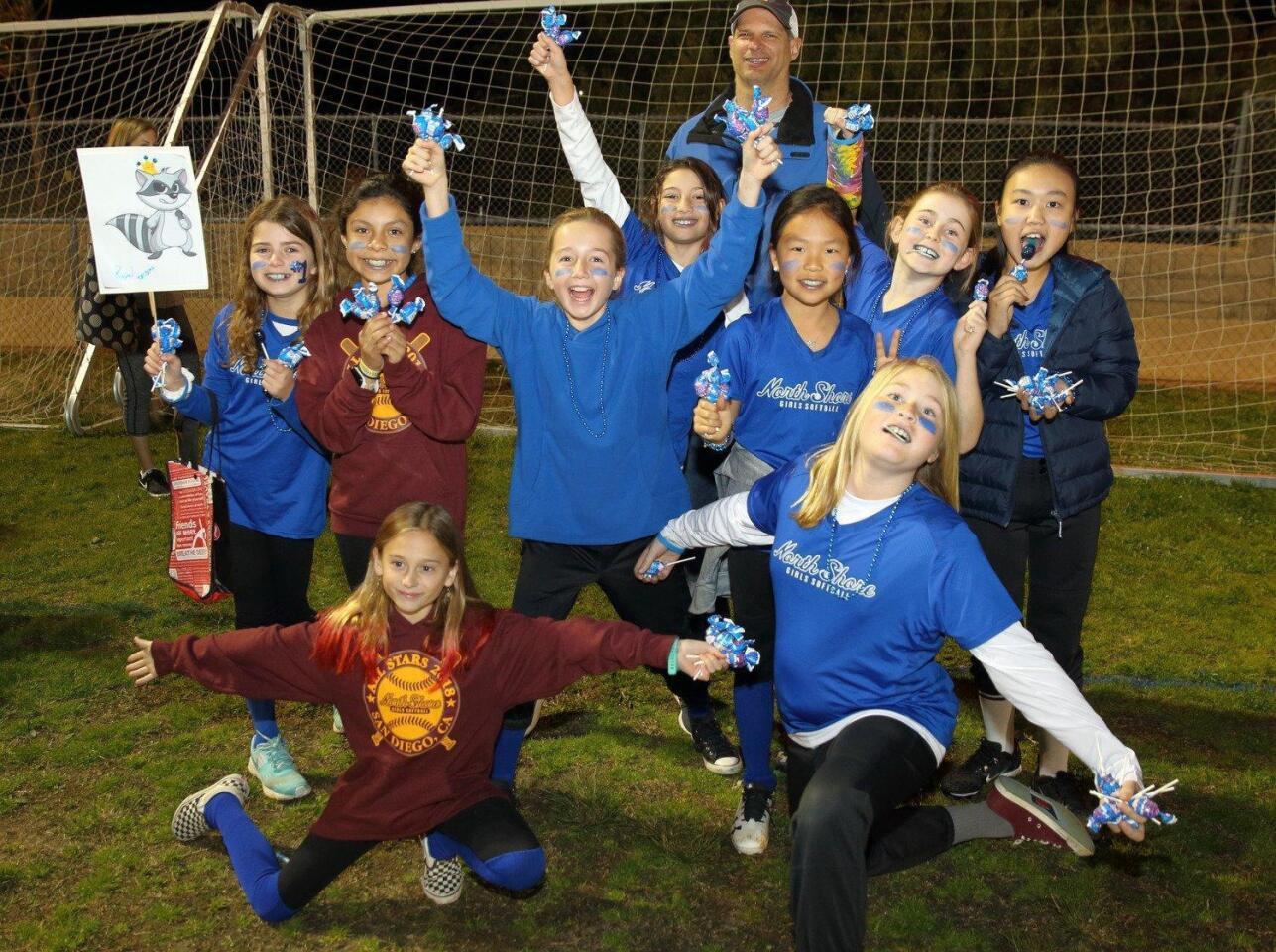 North Shore Girls Softball League Opening Night Celebration