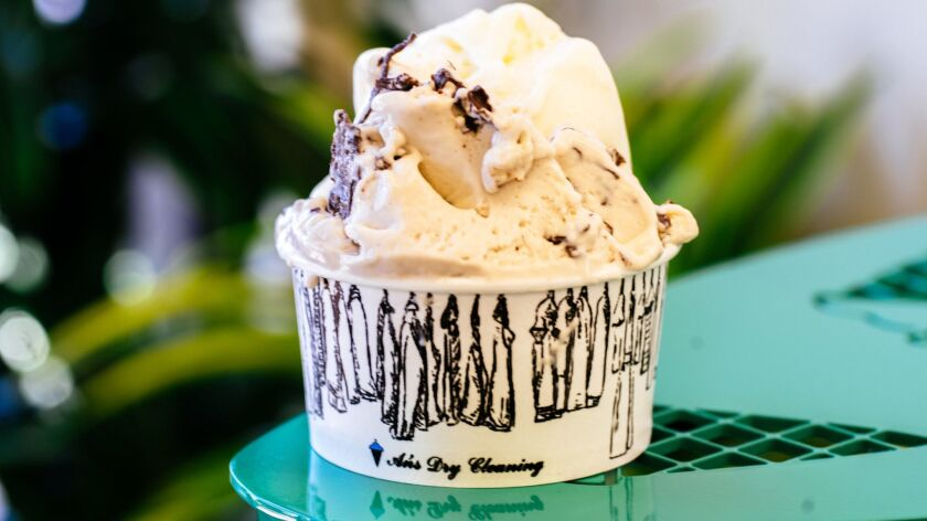 The newly-opened An's Dry Cleaning has upped the deliciousness quotient on a stretch of Adams Avenue that was already the most delicious block in San Diego. The gelato shop is one of the nearly 50 places participating in Sunday's Taste of Adams Avenue.