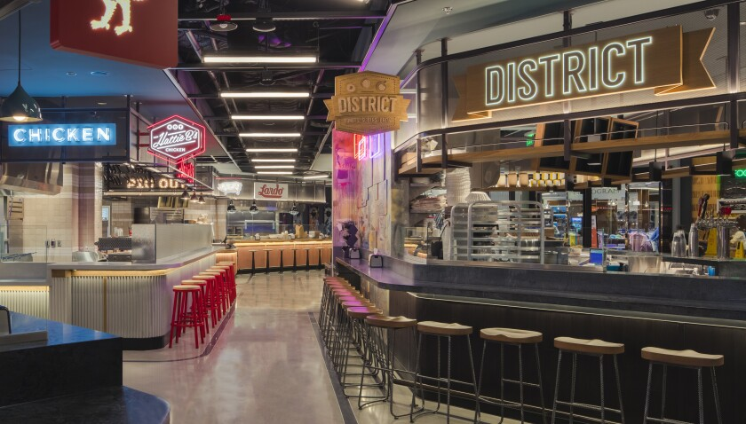 The Cosmpolitan's new food hall, Block 16, ups the culinary ante in Las Vegas.