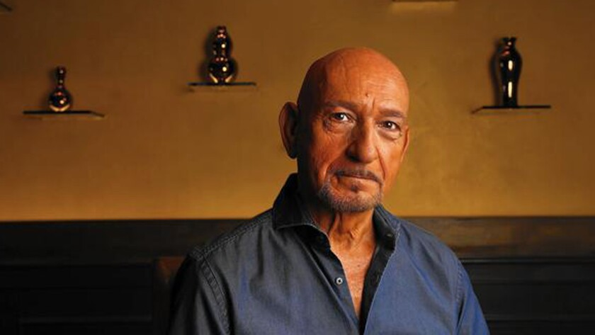 'I have played extraordinary patriarchs,' says Ben Kingsley of his acting craft