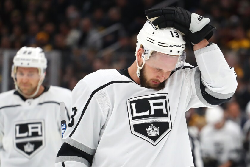 Kings trade Kyle Clifford and Jack Campbell to Maple Leafs