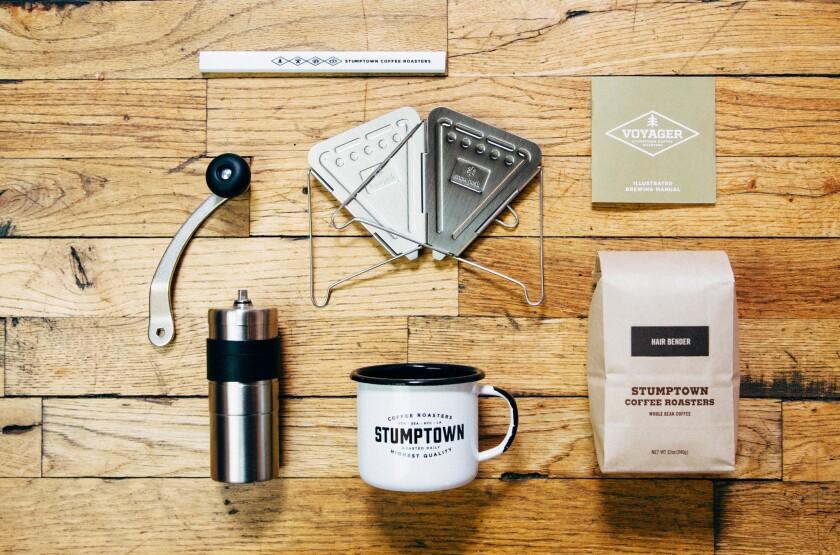 Voyager brew kit from Stumptown Coffee Roasters