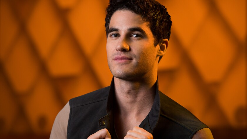 "Darren Criss is playing the title role in the musical ""Hedwig and the Angry Inch,"" which comes to the Pantages in Hollywood on Nov. 1."