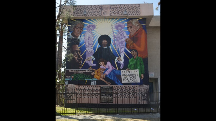 Conserving murals in Los Angeles