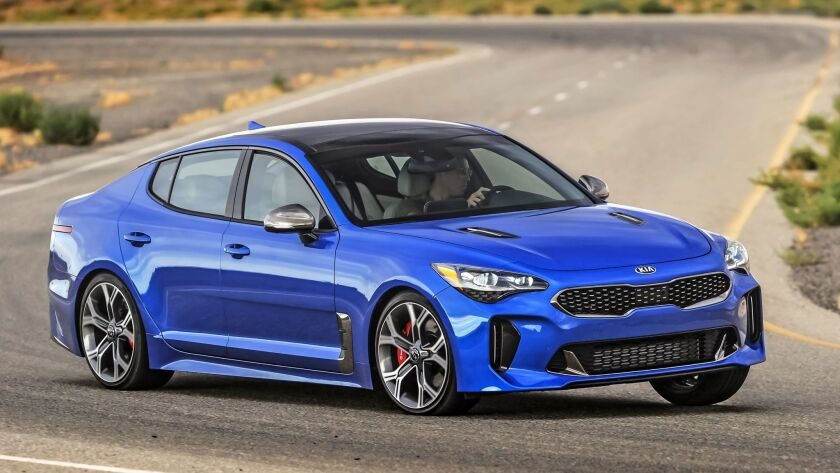 2018 Kia Stinger GT: A switchblade of change - The San Diego