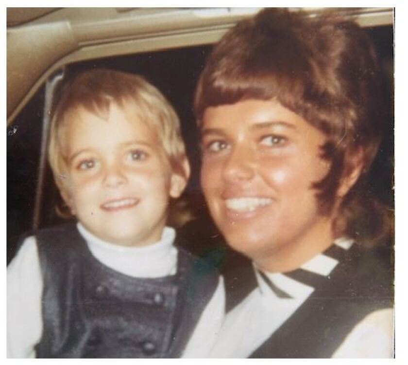 Toni  Anderson, right, and daughter Lane Lenhart photo circa 1970