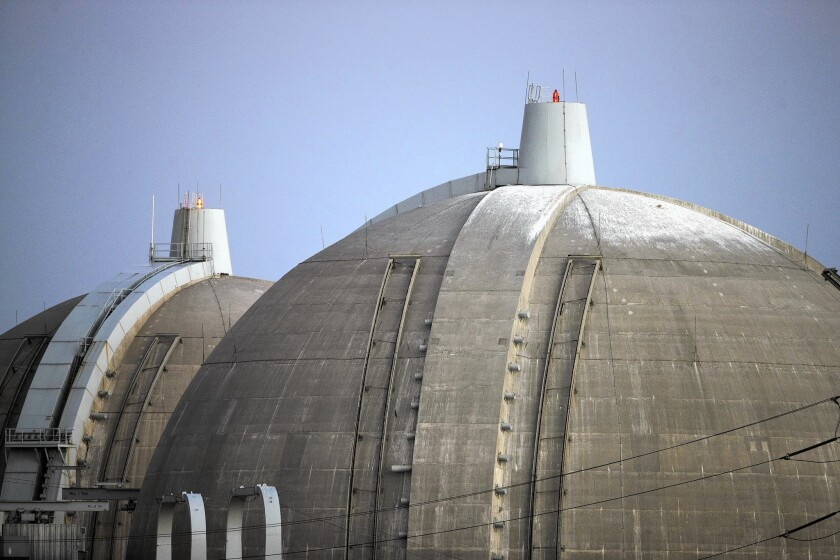 The San Onofre nuclear power plant was shut down in January 2012 when newly installed steam generators leaked a small amount of radioactivity. Edison, the plant's majority owner, decided in June 2013 to permanently close and decommission the generating station.